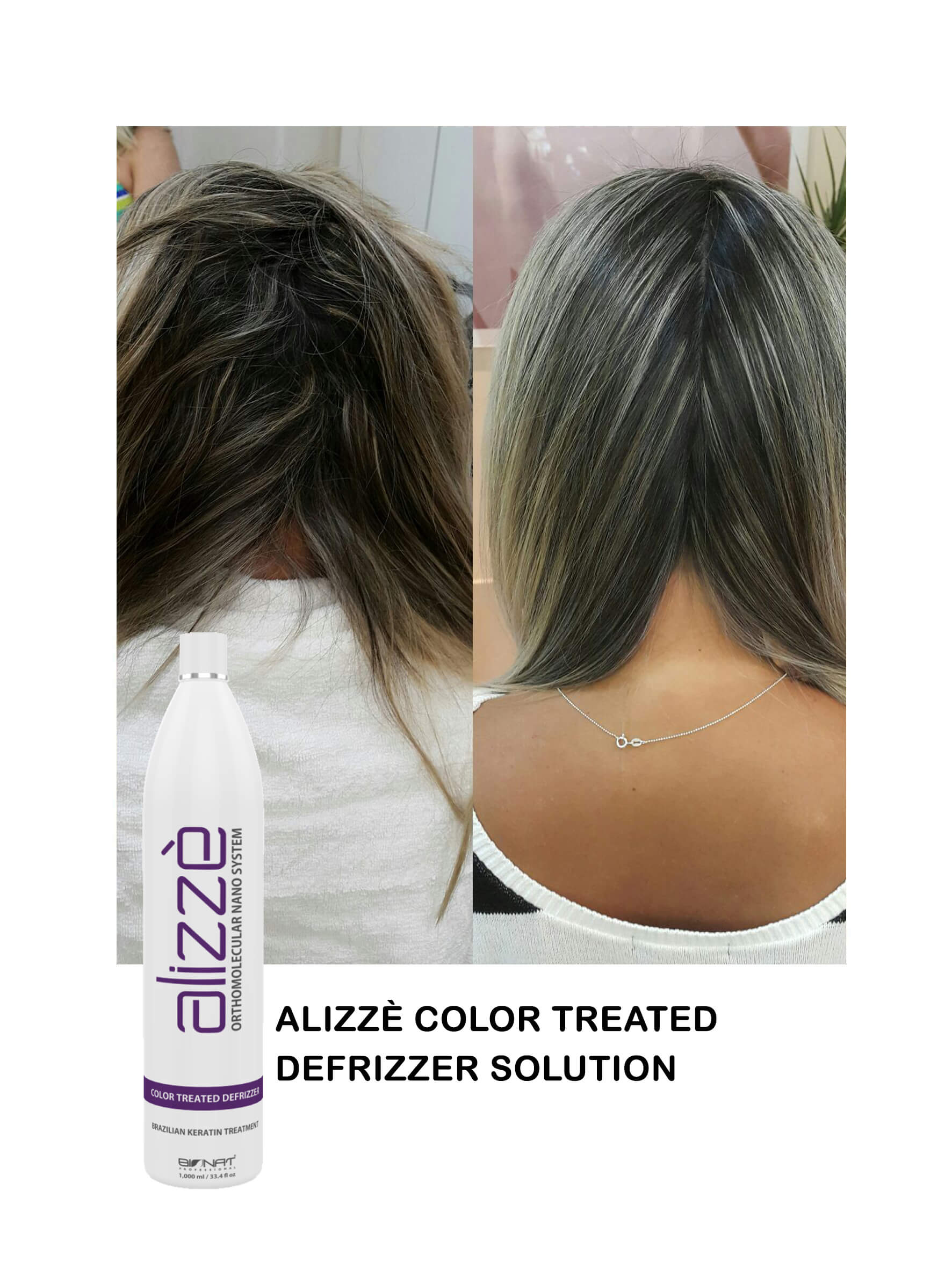 Alizzè Color Treadted Defrizzer Solution