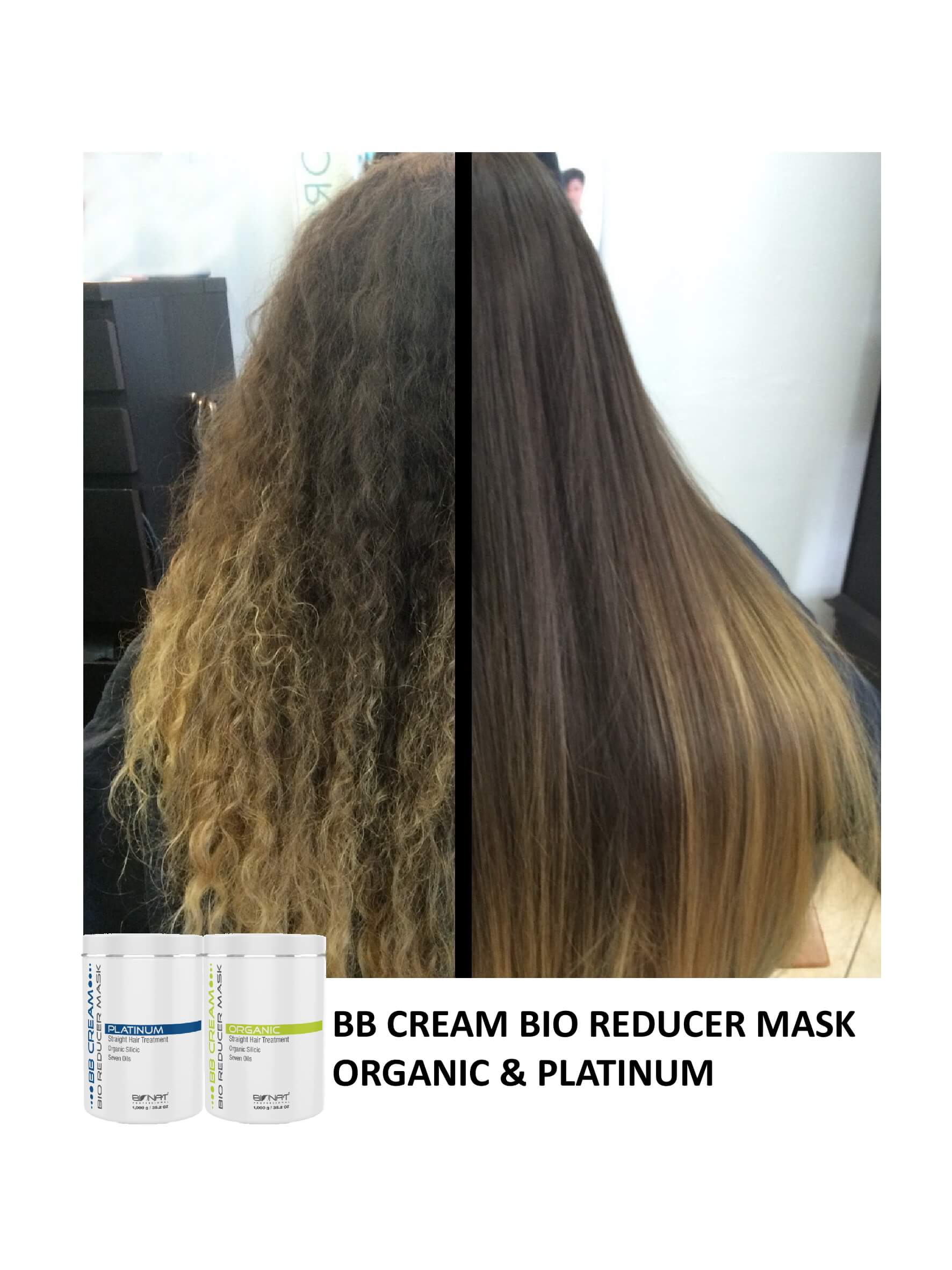 BB Cream Bio Reducer Mask Organic and Platinum